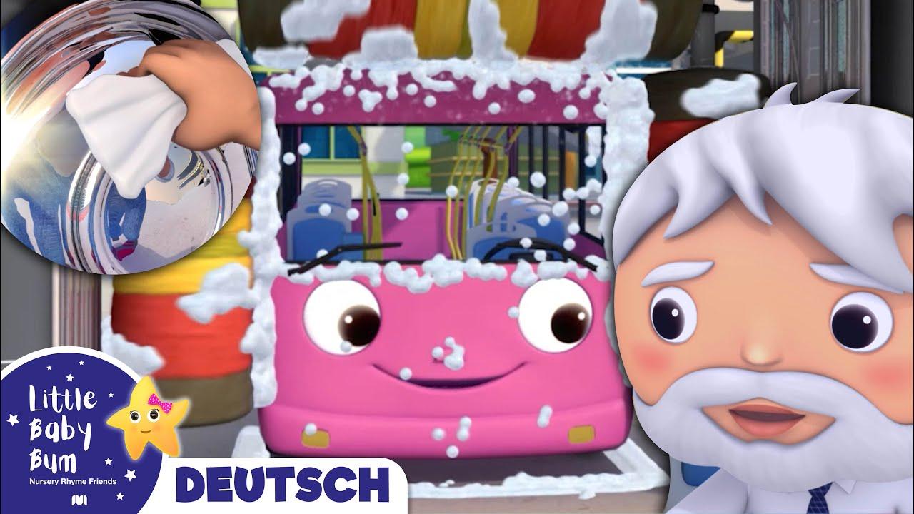 Die Räder des Busses | Kinderlieder | Little Baby Bum Deutsch | Cartoons für Kinder