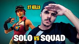 "SOLO VS SQUAD USO ""HACK"" DEDO. EXE 27K BOMB - FORTNITE BATTLE ROYALE"
