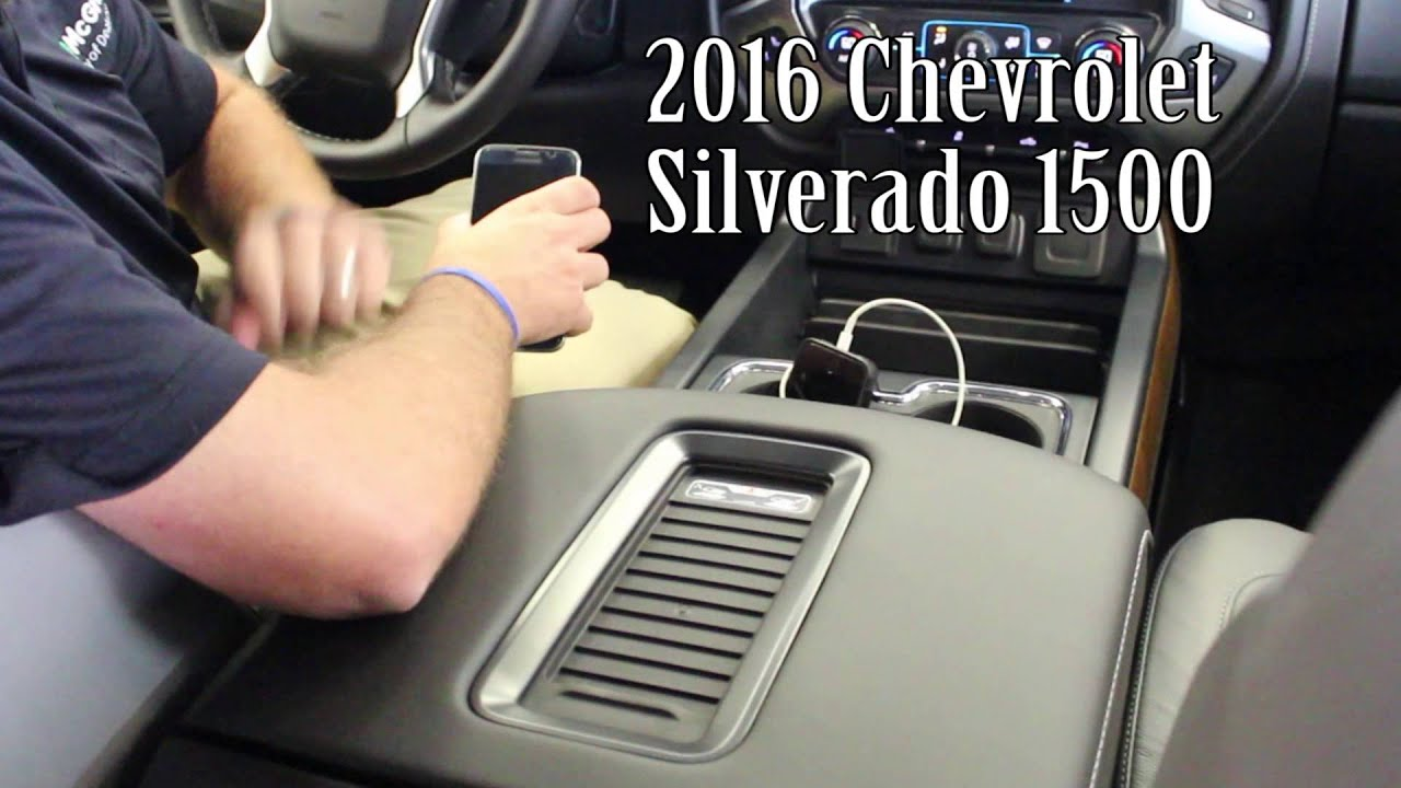 2016 Chevrolet Silverado 1500 Apple Carplay Android Auto
