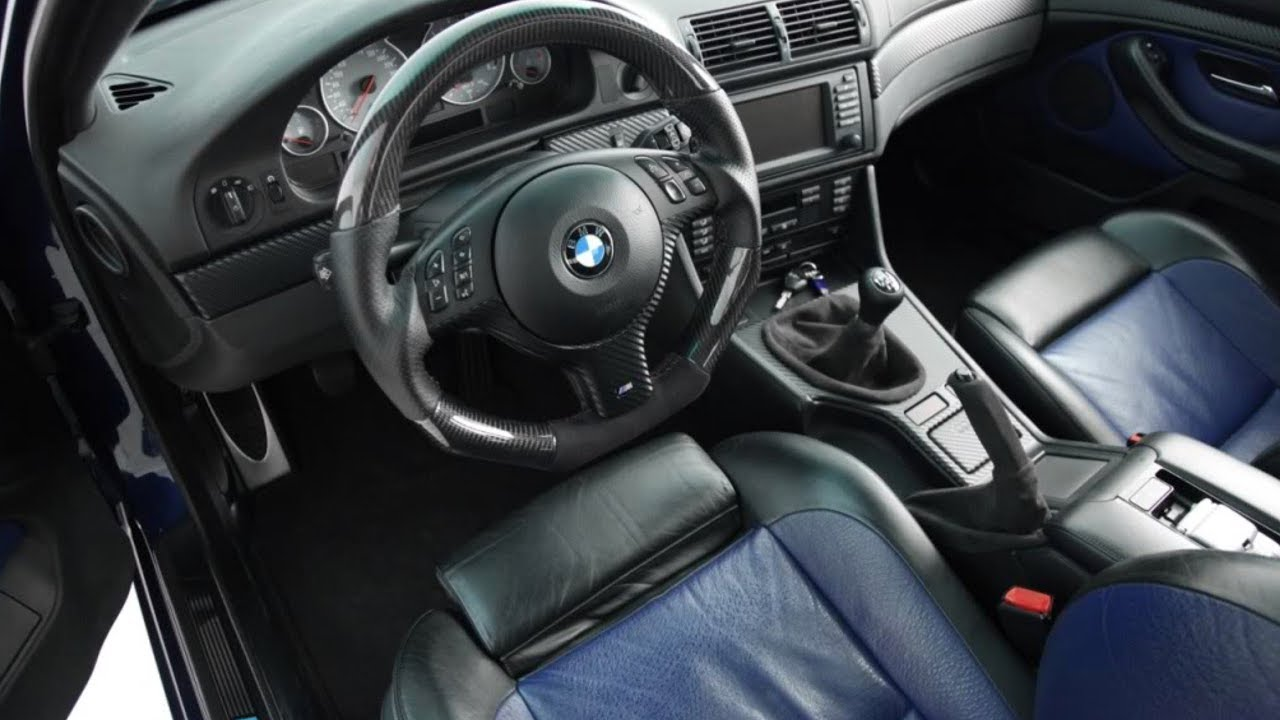 blue interior bmw e39 m5 cars and costumes 2017 youtube. Black Bedroom Furniture Sets. Home Design Ideas