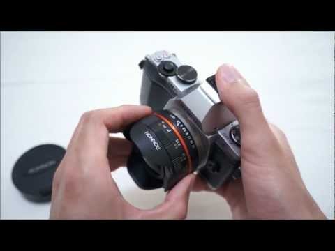 Rokinon Samyang Bower 7.5mm Fisheye (Micro Four Thirds) Lens Review on Olympus OM-D EM-5