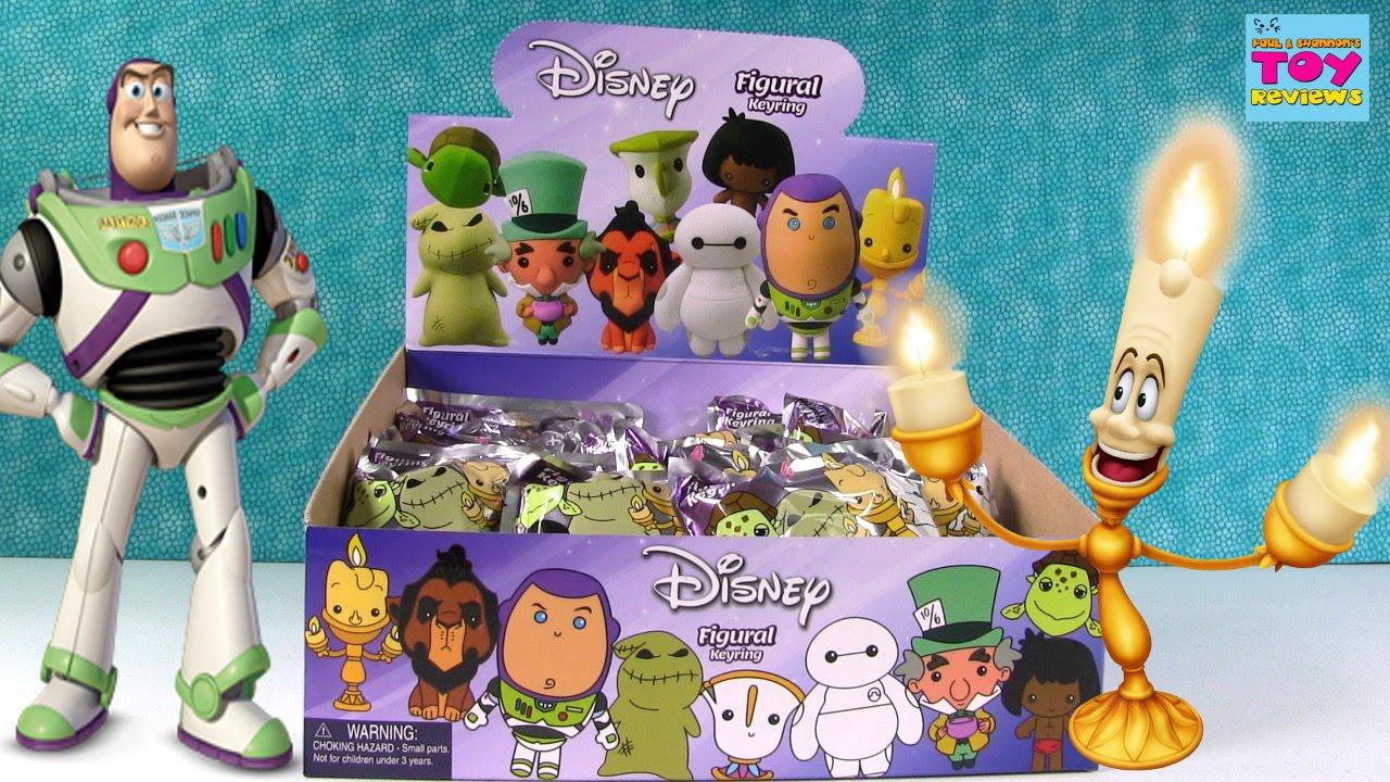 Disney Figural Keyrings Blind Bags Series 4 Opening Full