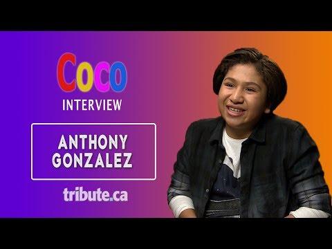 Anthony Gonzalez - Exclusive Coco Interview