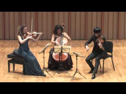 Camerata Pacifica — Mozart, Divertimento in E Flat Major, K 563, 2nd movement