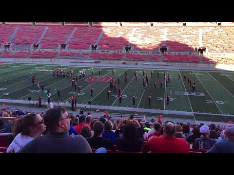 2017-10-14 - Buckeye Invitational - Seneca East High School Marching Band - Moana