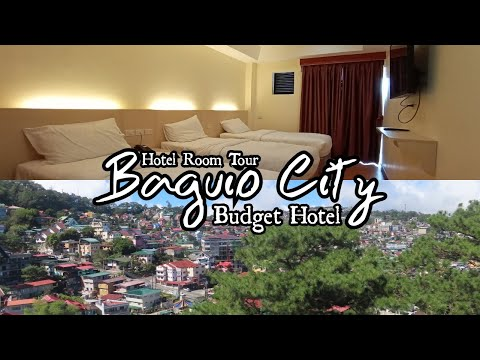 456 Hotel | Baguio City Near Burnham Park - Hotel Room Tour