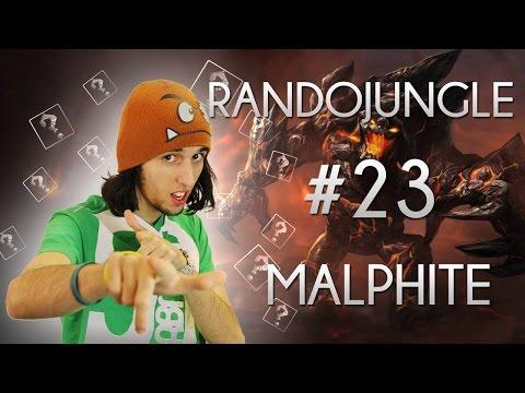 Malphite AP, LA NOSTALGIE DES DESSINS ANIMES - RandoJungle #23