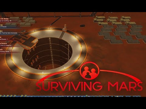 Surviving Mars : Unlimited Metal And Rare Metals - Building Mohole Mine
