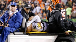 Ryan Shazier Gets Carted Off The Field After Gets Injured Early In The Game | NFL