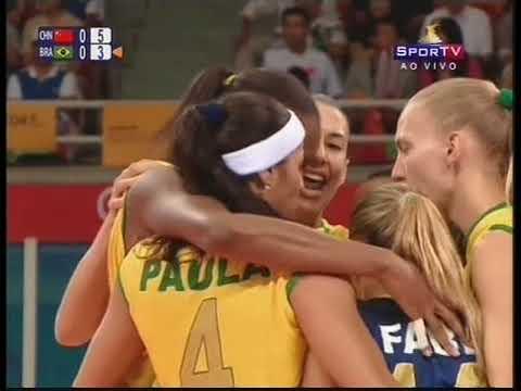 POG 2008 Semifinal: Brazil x China