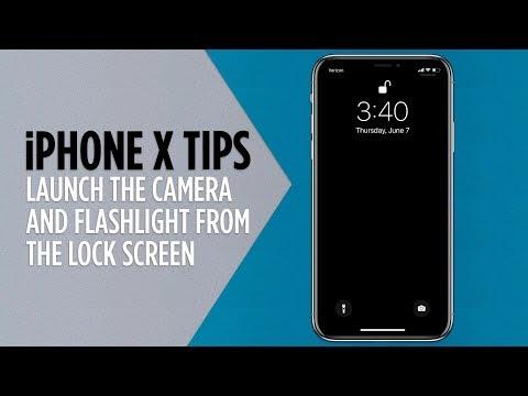 iphone x flashlight turns off by itself