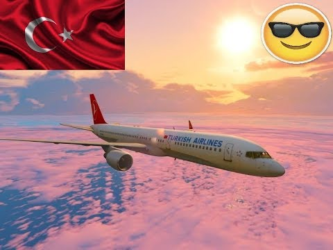 Turkish airlines mod ! Gta 5 Story Mode Bölüm #22 sezon 1