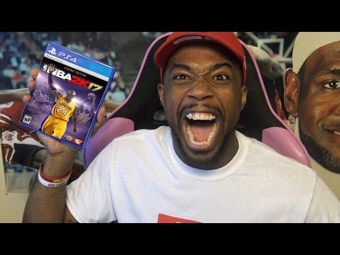 I GET TO PLAY NBA 2k17 EARLY BEFORE RELEASE DAY REACTION + NBA 2k17 #Friction Trailer