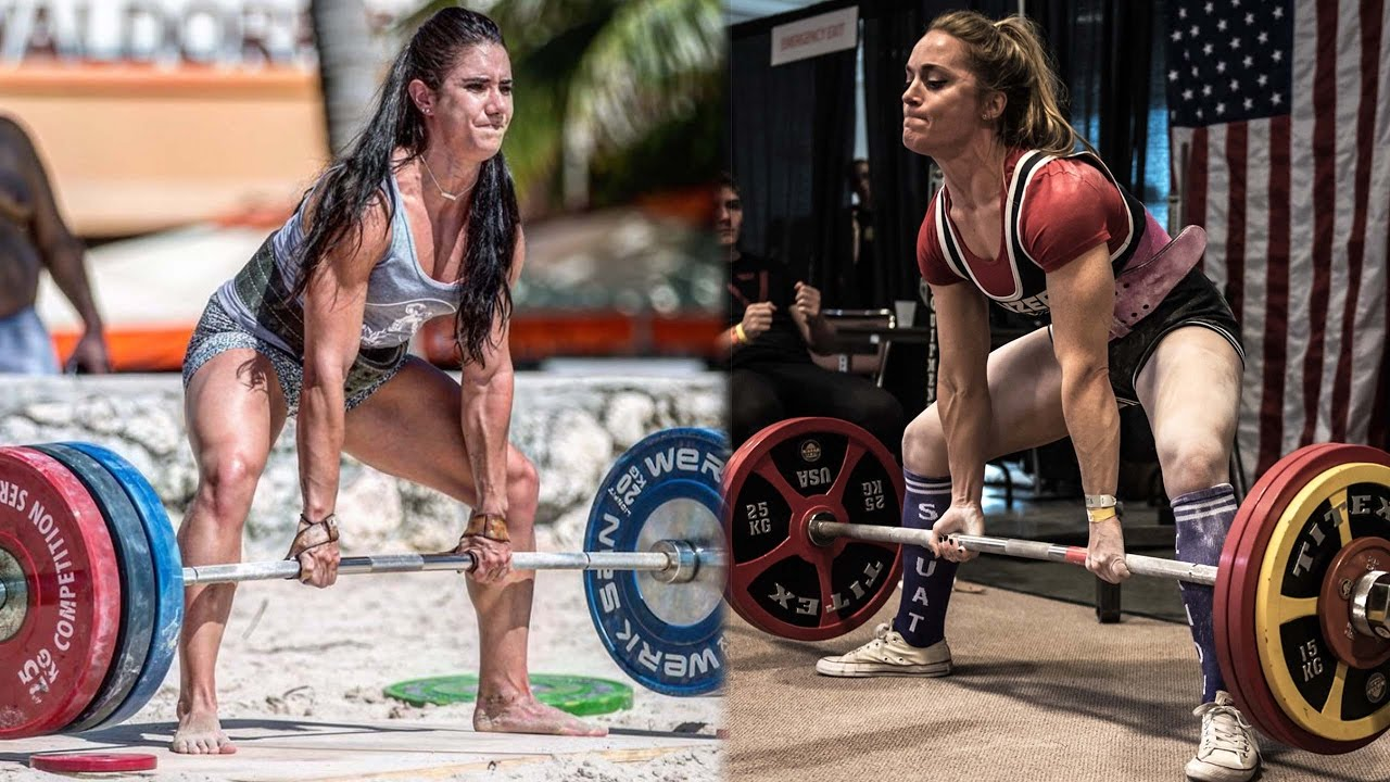 Deadlifting 400lbs with Stefi Cohen | MEGSQUATS