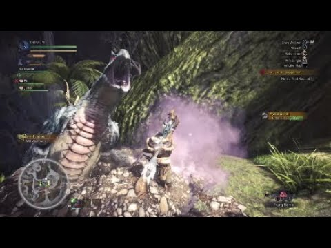 Monster Hunter World (Episode 15) Capturing a Tobi Kadachi and an Anjanath w/ Liam
