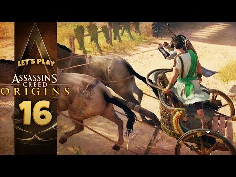 WILD RIDE | Assassin's Creed: Origins (Let's Play Part 16)