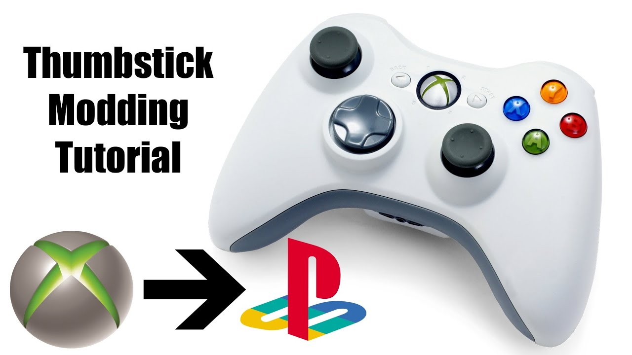 PlayStation Thumbsticks for Xbox 360 Controller Install [Tutorial ...
