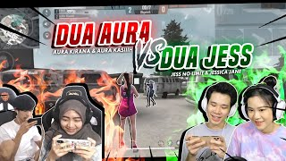 2 AURA VS 2 JESS !! PART 1 || FREE FIRE BATTLEGROUNDS
