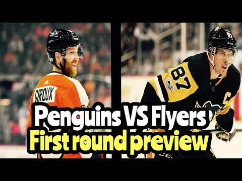 NHL Playoff Preview Pittsburgh Penguins VS Philadelphia Flyers