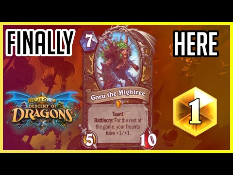 It's FINALLY Here!!! | How To Play Treant Druid | (Descent Of Dragons)