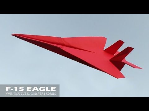 Awesome Paper Airplane How To Make A That Flies