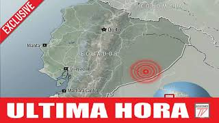 URGENTE: HORRIBLE TERREMOTO DE 7.5 AZOTA PERU Y ECUADOR