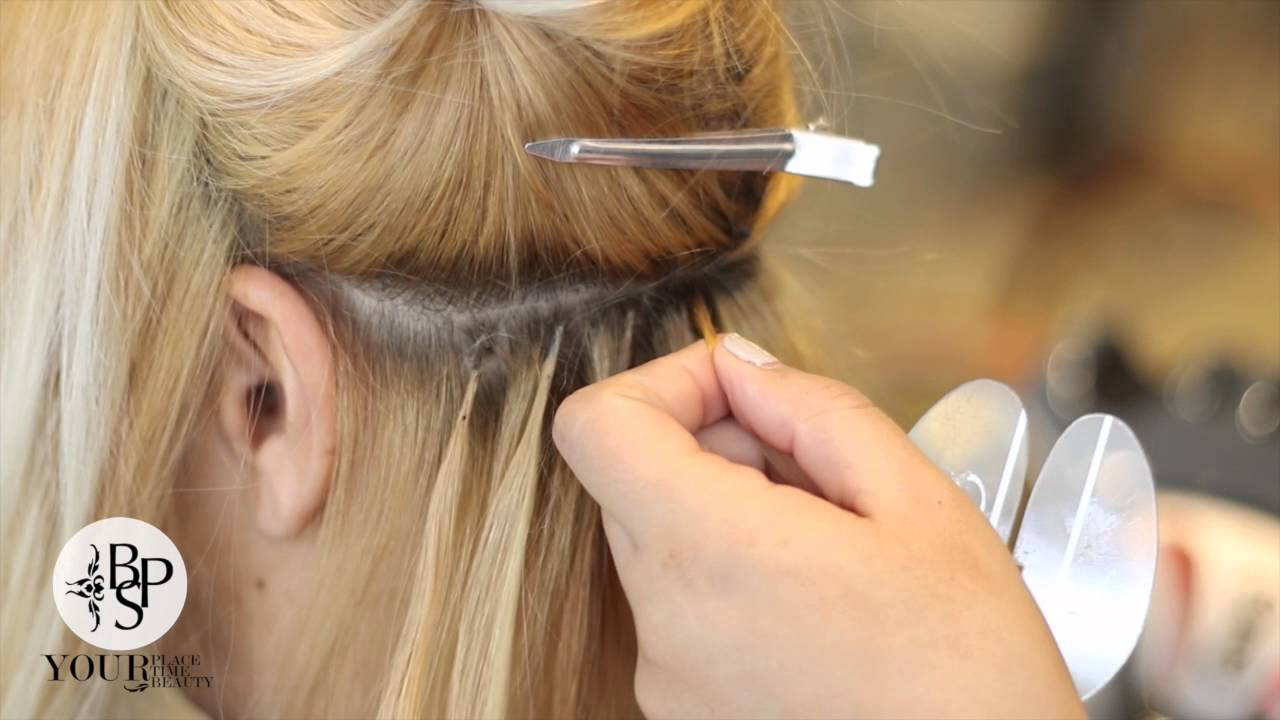 Bps How To Apply Keratin Bond Extensions From Great Length Youtube