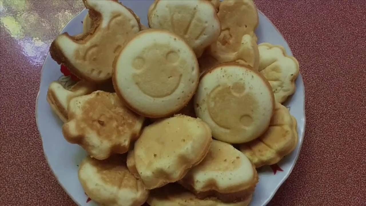 Hướng dẫn làm bánh bằng máy nướng hình thú