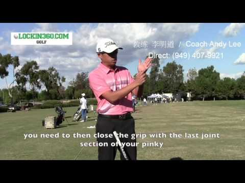 Correct Golf Grips (Interlocking Method) with Coach Andy