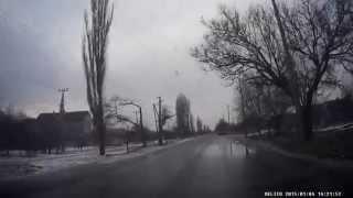Улица Чкалова. Мелитополь. Видеорегистратор Aspiring GT-11. Видео Мелитополь.(, 2015-01-04T19:11:21.000Z)
