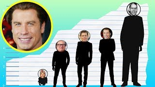 How Tall Is John Travolta? - Height Comparison!