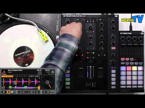 Native Instruments Traktor Kontrol Z2 DJ mixer walkthrough & demo
