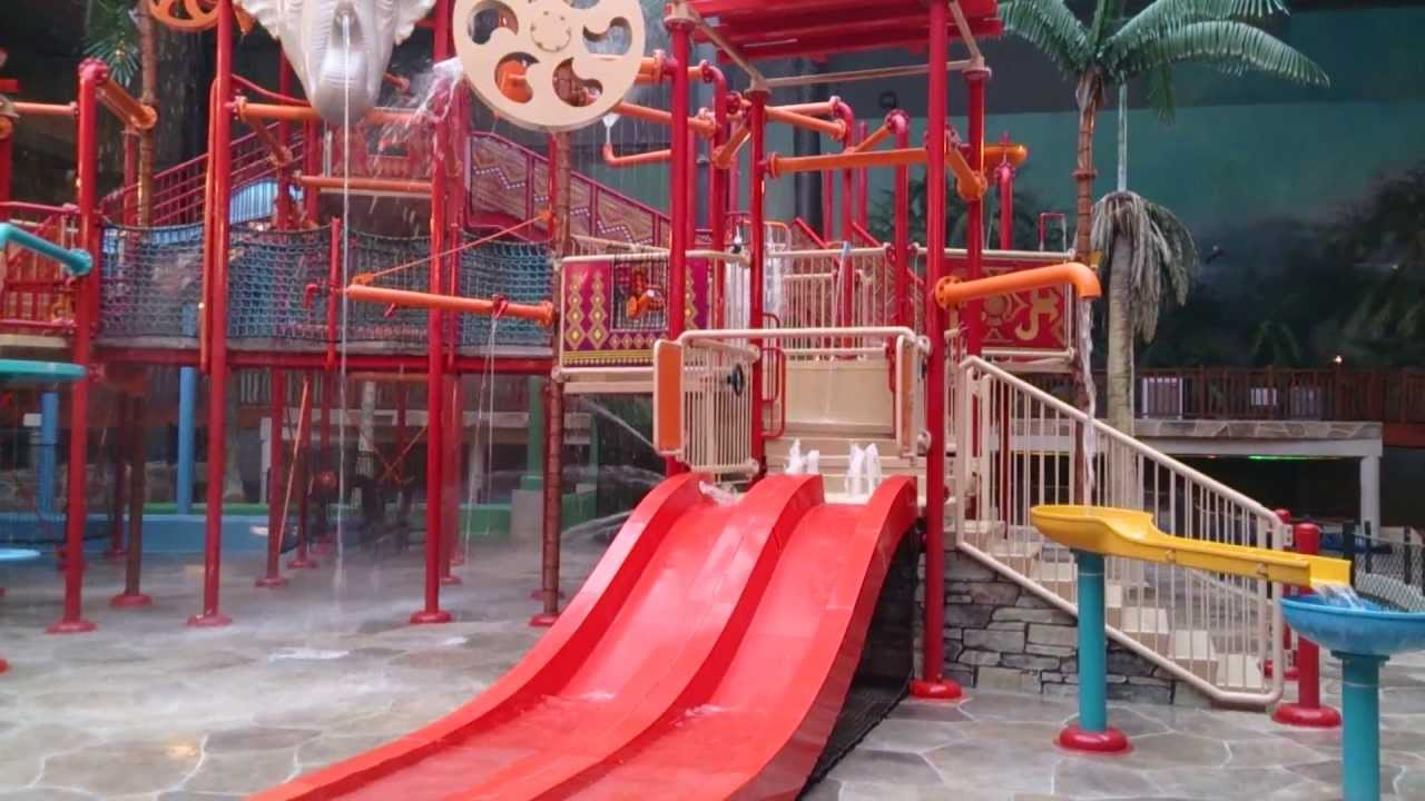 Lalandia Billund Aquadome Aqua Play Structure Youtube