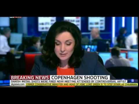 Copenhagen Shooting.Terror attack in Denmark. 1 Dead several In wounded in shooting.