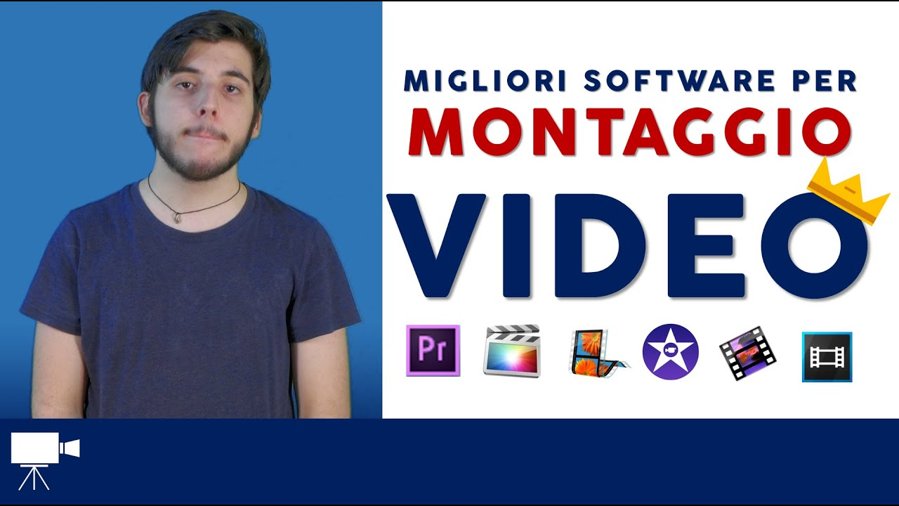 Migliori software per montaggio video youtube for Software per rendering