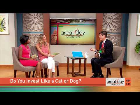 """Gary Sipos on CBS-TV Washington DC """"Do You Invest Like a Dog or a Cat?"""""""