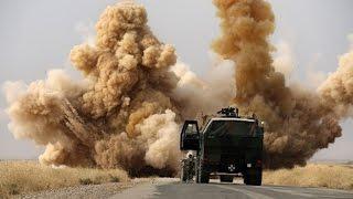 Минобороны опубликовало видео авиударов по позициям ИГ