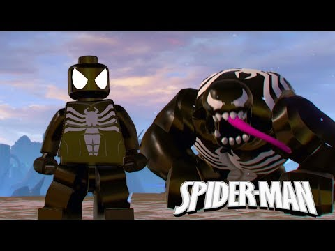 LEGO Marvel Super Heroes 2 Symbiote Spider Man Unlock Location +Free Roam Gameplay