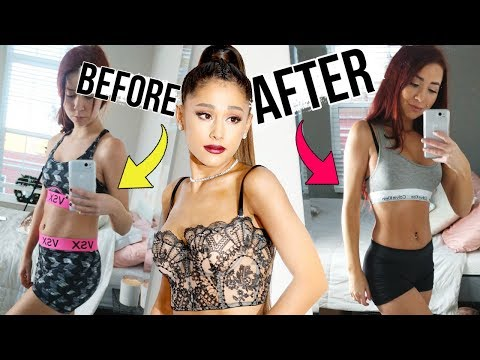 Trying Ariana Grande's Diet & Workout for TWO WEEKS!