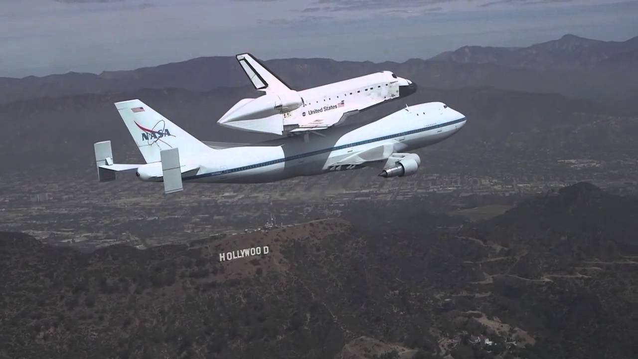 Space Shuttle Endeavour/Chase Plane - YouTube