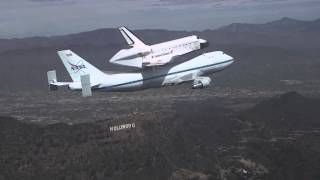 Space Shuttle Endeavour/Chase Plane