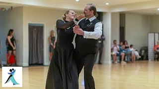 Pro Foxtrot Show Dance at Ultimate Ballroom Dance Studio