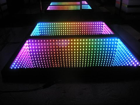 DMX RGB Fully Programmable Infinity Mirror YouTube