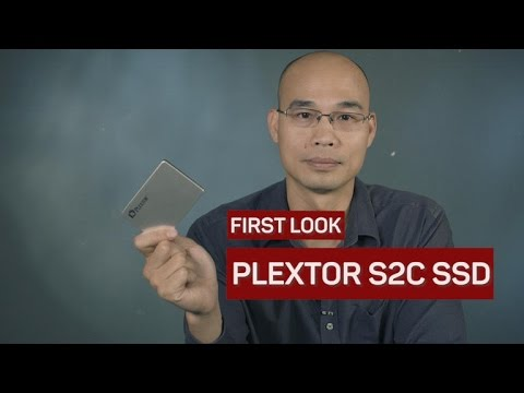 The Plextor S2C solid-state drive