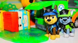 Мультики про машинки РОБОКАР ПОЛИ Щенячий патруль Игрушки Игры с машинками Мультфильмы для детей