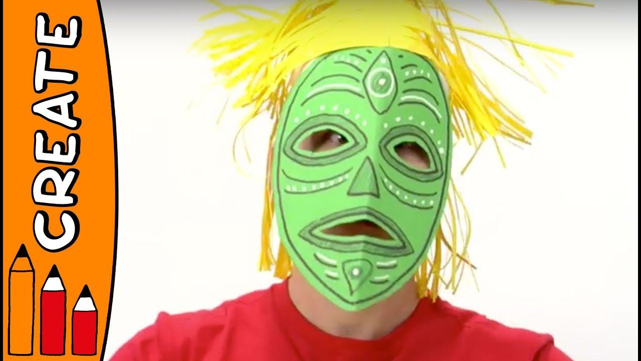 Hawaiian Mask Craft
