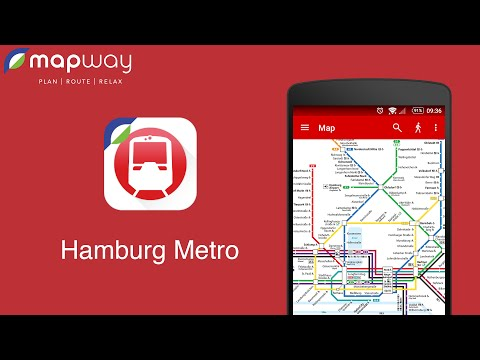 Hamburg Metro on Android - Mapway