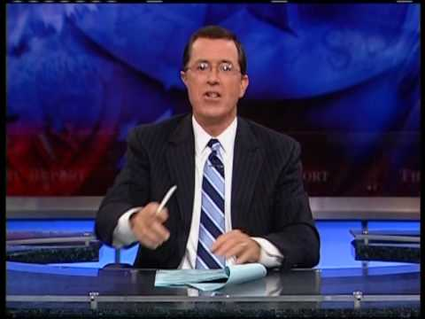 The Colbert Report - Greetings NASA