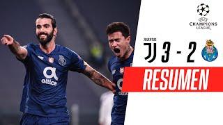 ¡LA VECCHIA SIGNORA, AFUERA EN OCTAVOS! | Juventus 3-2 Porto | RESUMEN