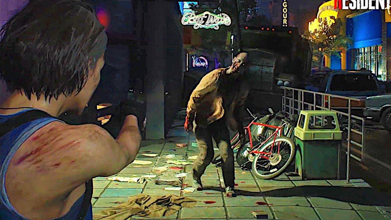 Resident Evil 3 Remake Gameplay (2019) - YouTube